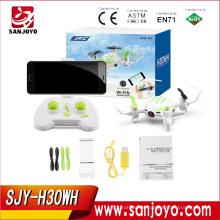 PK Huajun W606-3 drone Hot sale JJRC H30WH Altitude Hold With 0.3mp HD wifi Camera Cute design SJY-H30WH