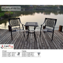 metal marble outdoor furniture set