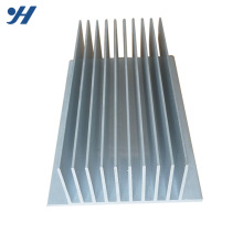 Silver Custom Aluminum Led Heatsink Extrusion Cpu Heatsink
