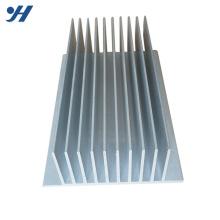 custom made anodize extrusão dissipador de calor do amplificador de alumínio