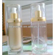 Botellas ovaladas de la bomba de la loción 15ml