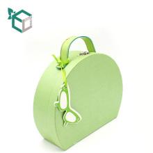 Caja de regalo verde fresca personalizada de la maleta