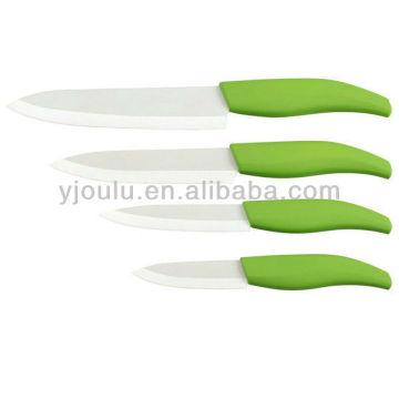 Couteau en céramique OL028 avec poignée TPR