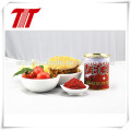 70 g, 210 g, 400 g de pasta de tomate concentrada em conserva de marca Vego