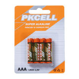 Top selling AA AAA C D 9V 12V alkaline battery from PKCELL
