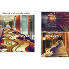 Máquina feita Wilton Muro para parede Hotel Carpet Roll