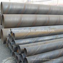 Spiral geschweißte Stahlrohr 2015 Fabrik Preis