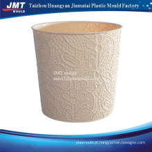 hollow injection plastic bin mould