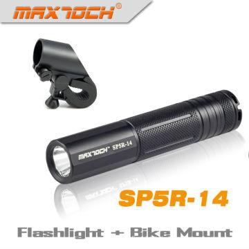 Maxtoch SP5R-14 Cree R5 Langdistanz 18650 leistungsstarke Mini-LED-Taschenlampe