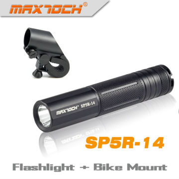Maxtoch SP5R-14 Cree R5 larga distancia 18650 potente Mini linterna