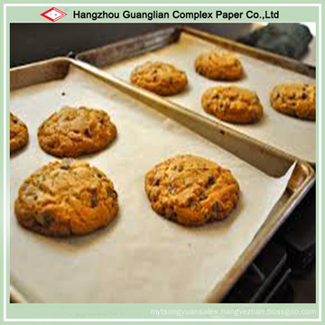 Grease Proof Cookies Baking Paper in Oven