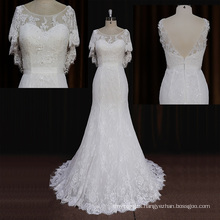 2015 Wholesale Court Train Mermaid Egypt Wedding Dress