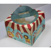 cake colored paper box
