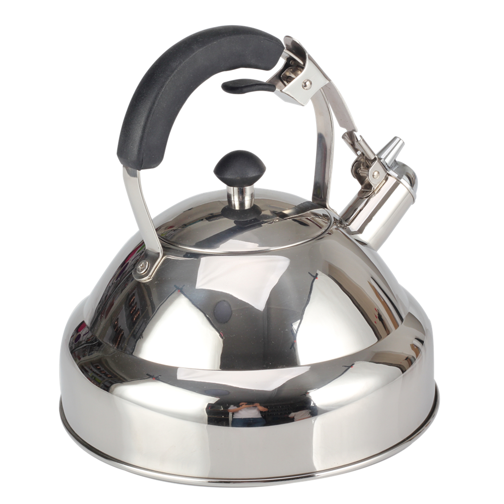 The Prevent Handle-Stainless Steel kettle
