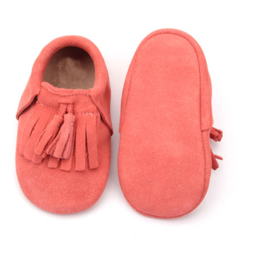 Wholesale Mix Colors Fancy Soft Leather Baby Shoes