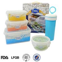 Cópia do logotipo de Shantou L conjunto de recipiente de armazenamento de alimentos