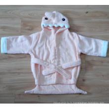 (BC-KB1007) Hot-Sell 100% coton Terry Kids Cute Bathrobe