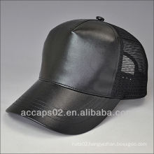 leather snapback blank hat