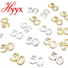 HYYX Wedding decoration number 50 wedding table decoration