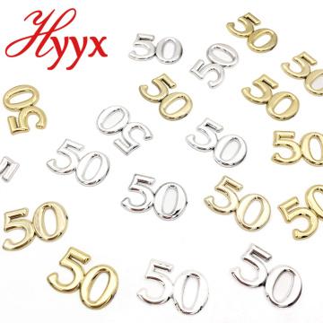 HYYX Hochzeit Dekoration Nummer 50 Hochzeit Tischdekoration