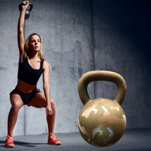 Power Enhancement Pulverbeschichtetes Kettlebell