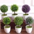 Bonsais artificiais da árvore para a decoração home, planta artificial