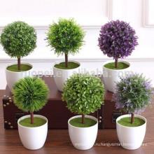 Искусственный Бонсай Для Украшения Дома, Искусственные Растения
