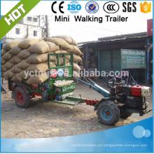 carga remolque de granja de 1.5 toneladas, remolque de camión con el mejor precio