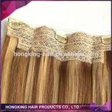 человеческих волос дешевые Оптовая цена расширения гало волос