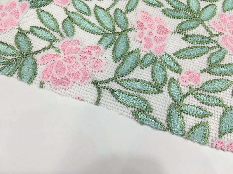 Spring Embroidery Fabric