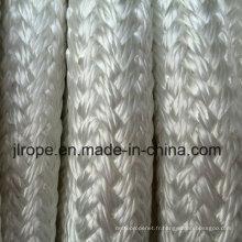 Corde tressée multi-couches à double couche