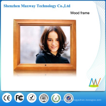 15 inch wood frame digital photo frame