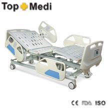 Topmedi Medizinisches Pedal Control System Elektrisches Stahl Krankenhaus Bett