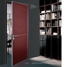 Conception de porte en bois de luxe