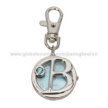 Pocket Keychain Watch, Ideal for Promotional Purposes, Suitable for Gifts and OEM Designs Welcomed