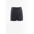Woven stripes shorts hot pants