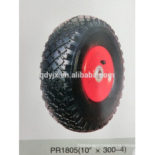 "pneumatic wheels for trolley 10""X3.00-4"