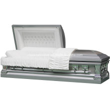 Jeff Silver Stainless Casket for USA Market