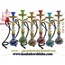 Mais vendidos de borosilicato de alta qualidade grande água Hookah Shisha