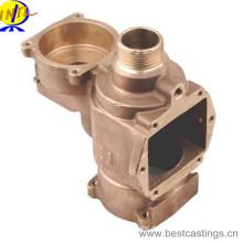 Изготовленный на заказ OEM корпус перевернутого клапана из латуни и бронзы