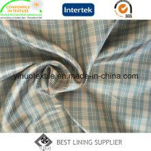 100% Polyester Zwei Tone Check Ripstop Pattern Männer und Frauen Kleidungsstück Futter