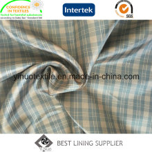 100% Polyester Two Tone Check Ripstop Pattern Men and Women′s Garment Lining