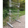 VIVINATUER Multi tier Hanging Folding Clothes Dry Rack for clothes holder