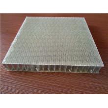 Panneaux en nid d'abeille en fibre tissée renforcée