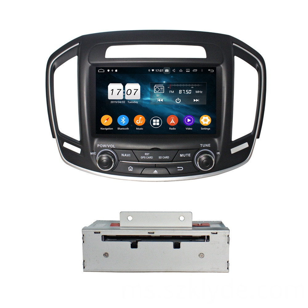 car entertainment system for INSIGINA