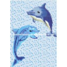 Mosaïque en verre Design de motif Mosaïque de piscine (HSP325)