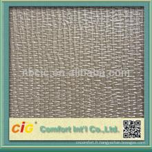 Le dernier cuir métallisé de meubles de relief de meubles de PVC de mode