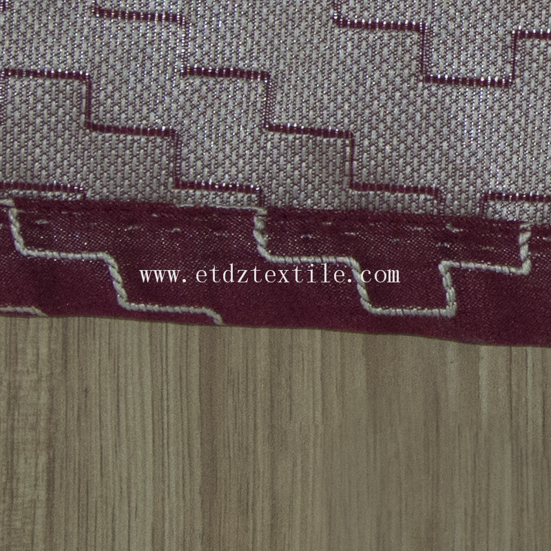 HOT New Ebroidery Like Design  Window Curtain GF026 Red