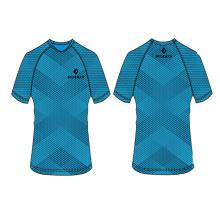 2017 nouveau modèle t-shirt pour sublimation impression hommes avec numéro