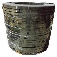 Tiras de embalagem de aço azul-encerado